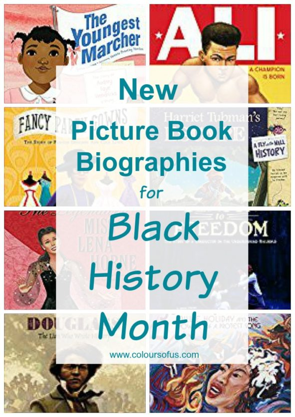 New Picture Book Biographies for Black History Month