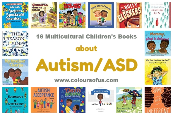 16 Multicultural Children's Books about Autism