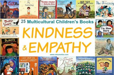 25 Multicultural Children's Books teaching Kindness & Empathy