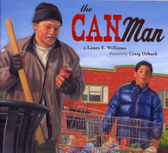 Multicultural Children's Books teaching Kindness & Empathy: The Can Man
