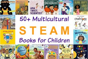 50+ Multicultural STEAM Books for Children