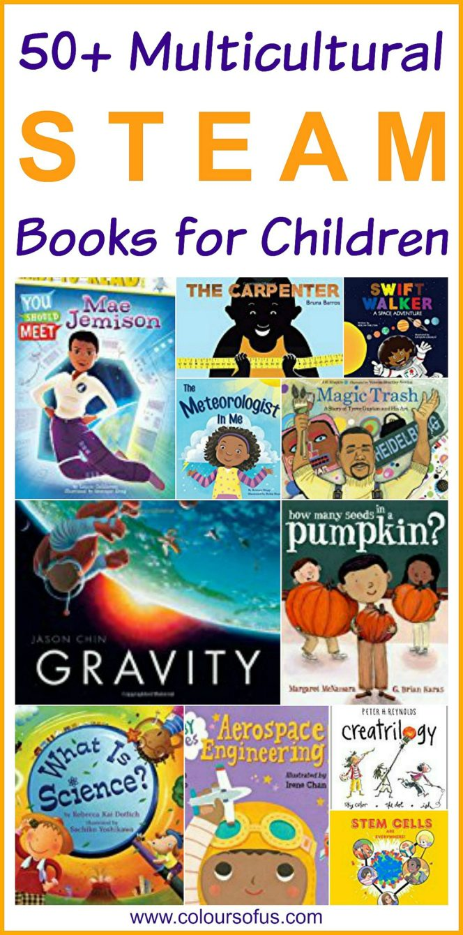 Multicultural STEAM Books for Children