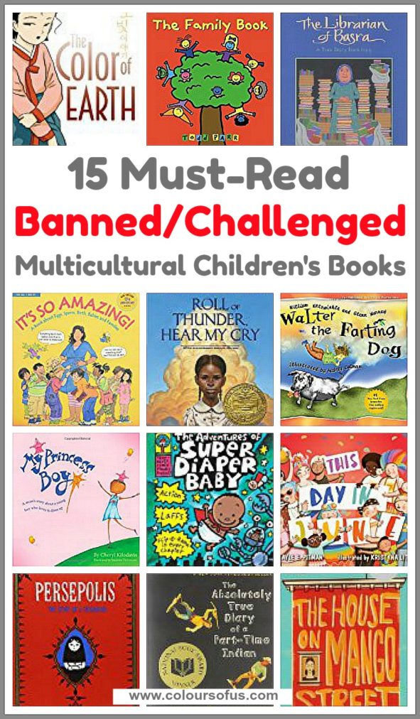 Banned & Challenged Multicultural Children's Books