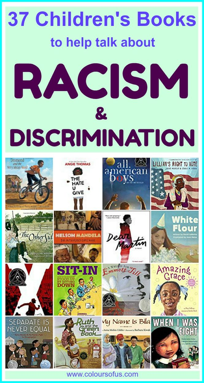 Children's Books to help talk about Racism & Discrimination
