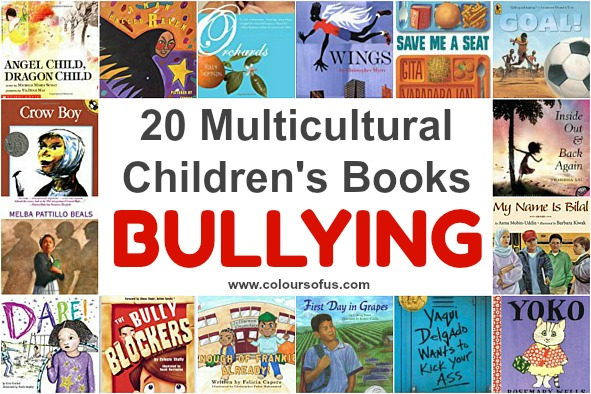 20 Multicultural Children's Books about Bullying