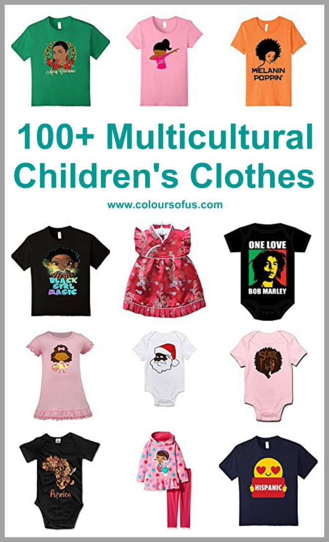 Multicultural Children's Clothes
