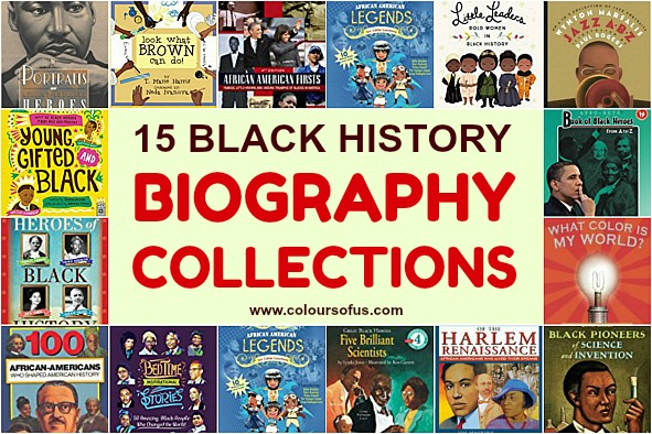 15 Black History Biography Collections for Children