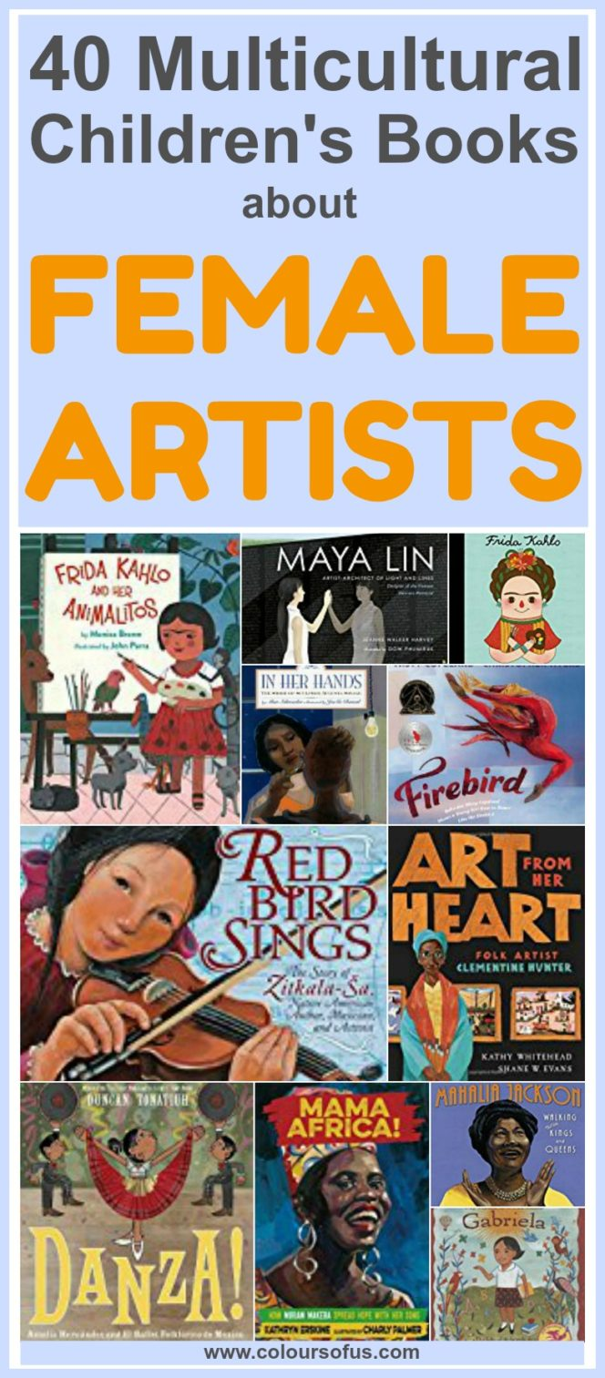 40 Multicultural Children's Books About Fabulous Female Artists