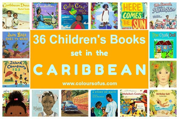 36 Children's Books set in the Caribbean