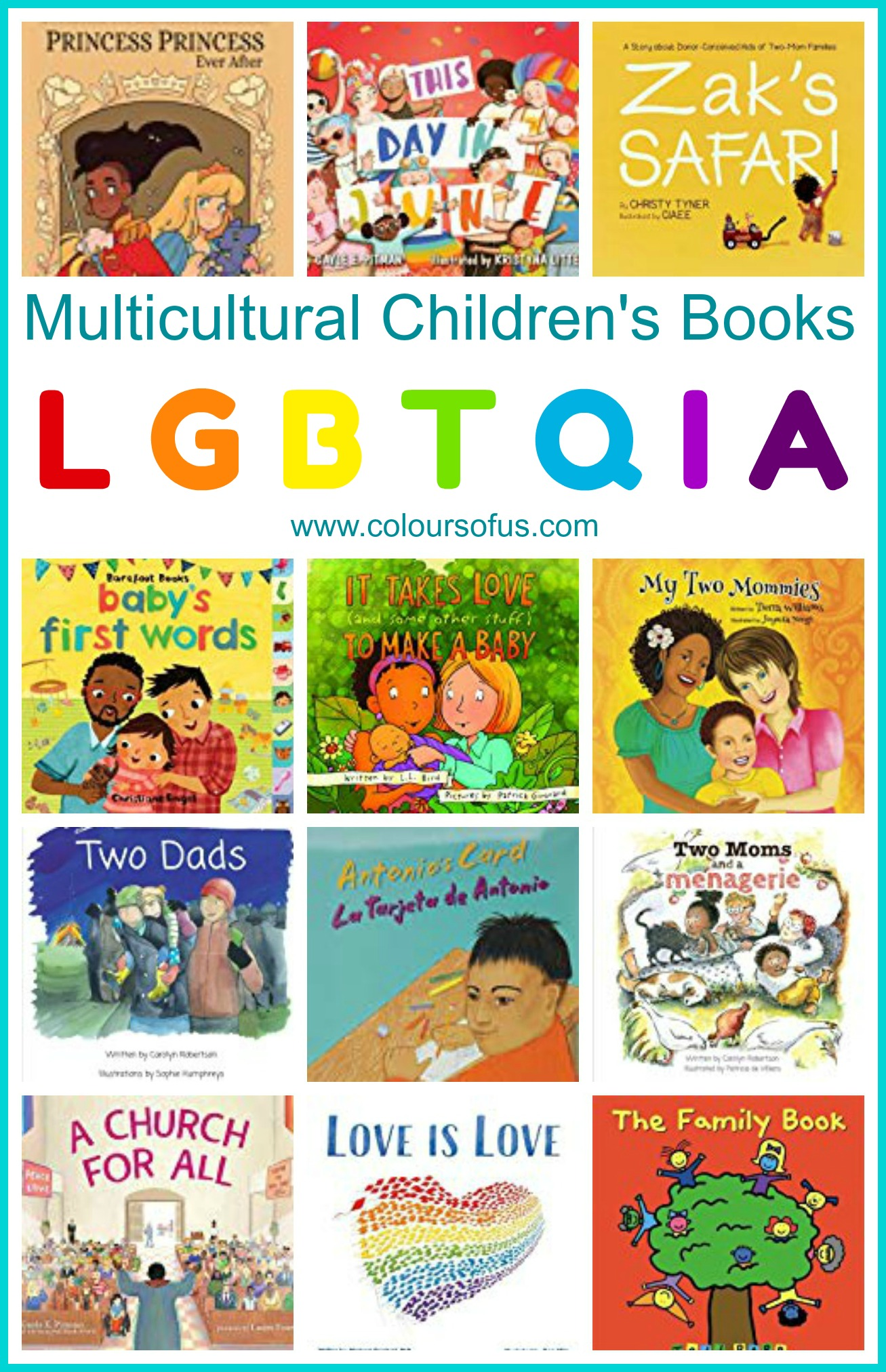 Multicultural Childrens Books Featuring Lgbtqia Characters