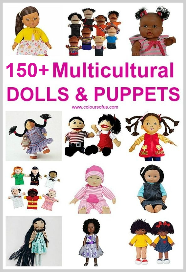 Multicultural Dolls & Puppets