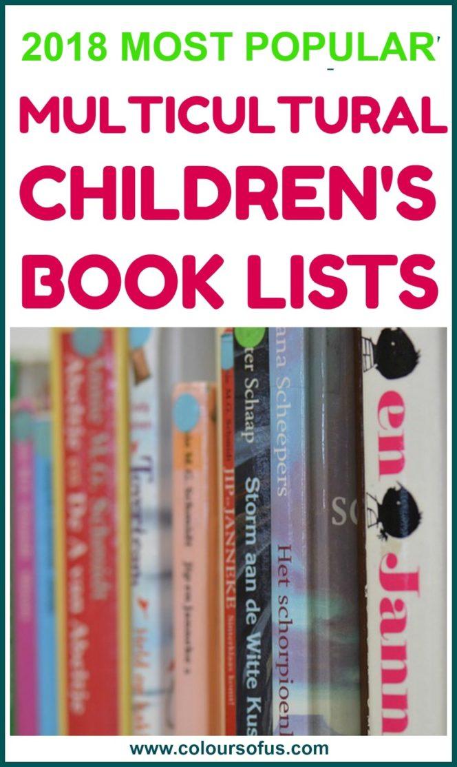 2018 Most Popular Children's Book Lists