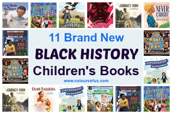 11 Brand New Black History Children's Books 2019