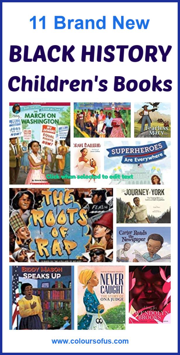 Brand New Black History Children's Books 2019
