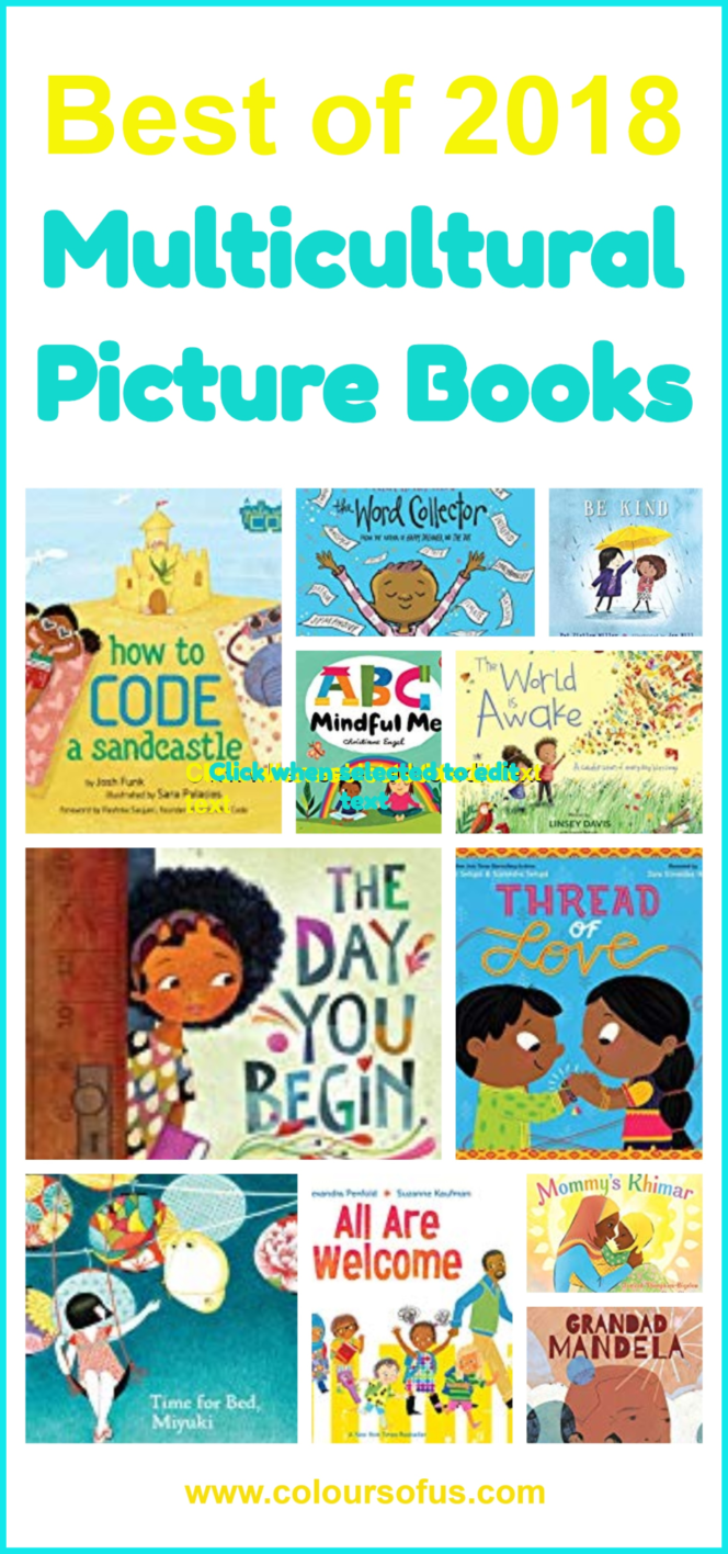 Best Multicultural Picture Books of 2018