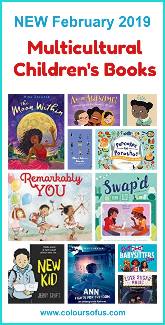 New Multicultural Children's Books February 2019