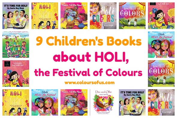 9 Children's Books About The Hindu Spring Festival Holi