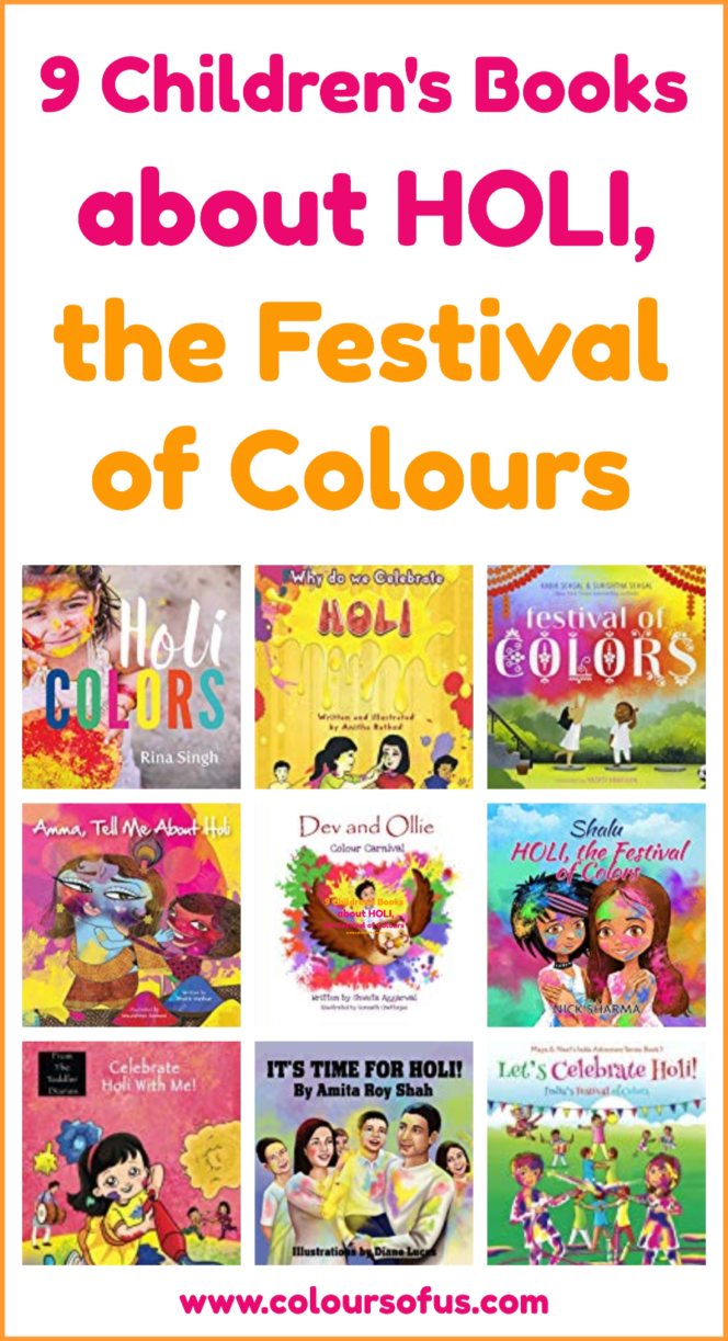 Children's Books about Holi