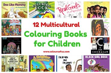 12 Multicultural Colouring Books for Children