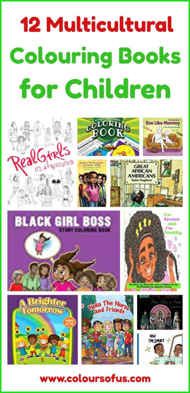 12 Multicultural Colouring Books for Children | Colours of Us