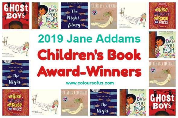 2019 Jane Addams Children's Book Award-Winners