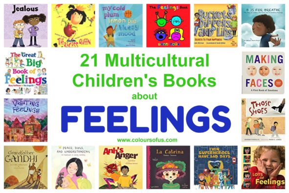 21 Multicultural Children's Books About Feelings