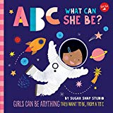 Multicultural Children's Books to help build Self-Esteem: ABC What Can She Be