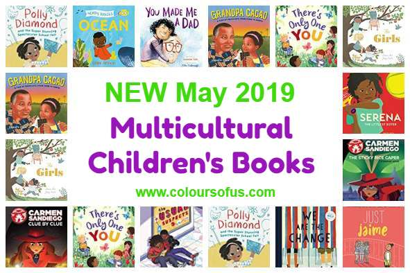 New Multicultural Children's Books May 2019