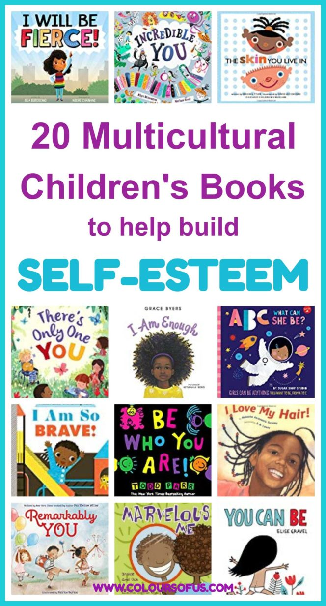 Multicultural Children's Books to help build self-esteem