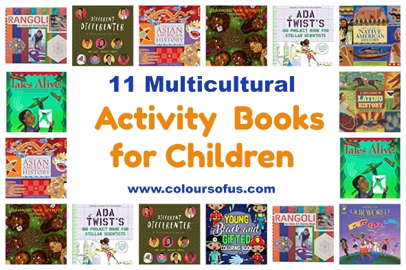 11 Multicultural Activity Books for Children
