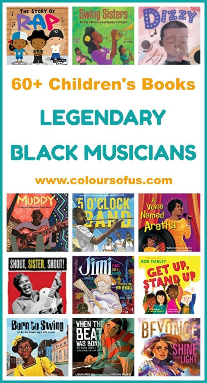 Children's Books About Legendary Black Musicians