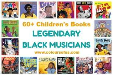 60+ Children's Books About Legendary Black Musicians