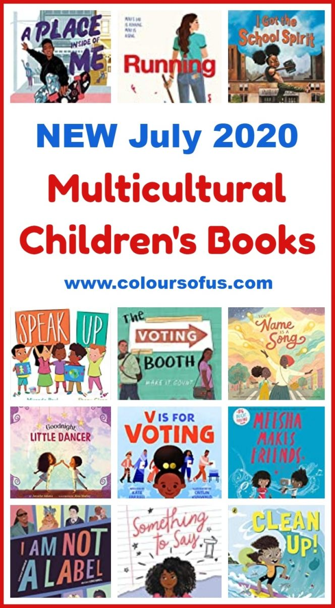 NEW Multicultural Children's Books July 2020 | Colours of Us