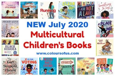 NEW Multicultural Children's Books July 2020
