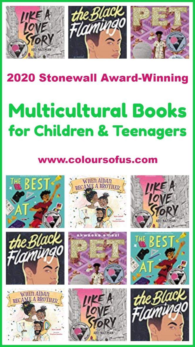 2020 Stonewall Award-Winning Children's Books