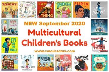 NEW Multicultural Children's Books September 2020