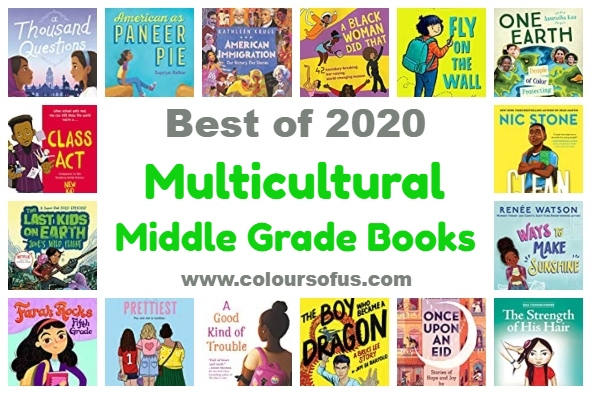 The 50 Best Multicultural Middle Grade Books Of 2020