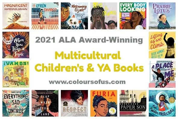 Multicultural 2021 ALA Award-Winning Children's & YA Books