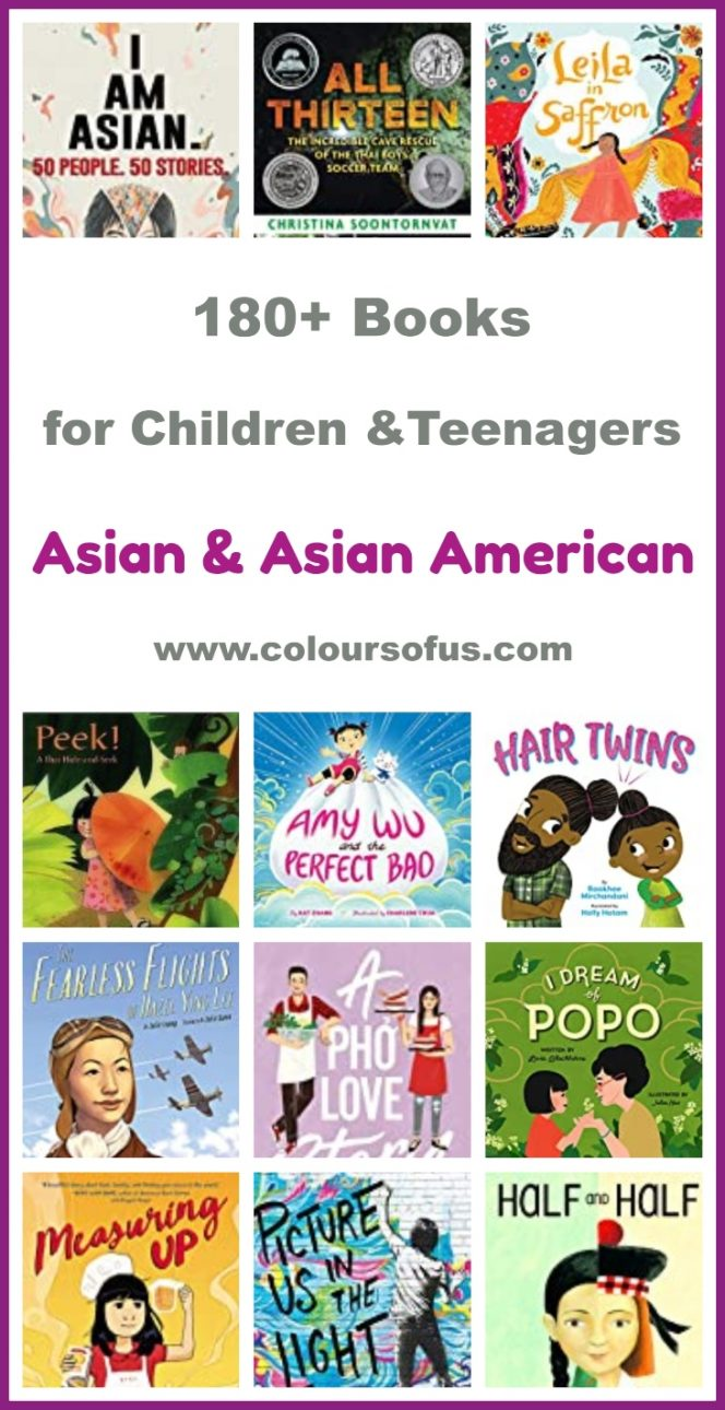 Asian & Asian American Books for Children & Teenagers