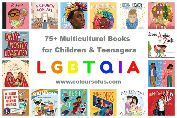 75+ Multicultural LGBTQIA Books For Children & Teenagers