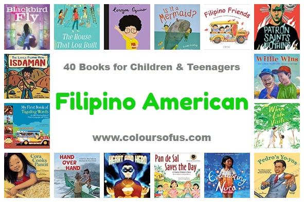 40 Filipino American Books for Children & Teenagers