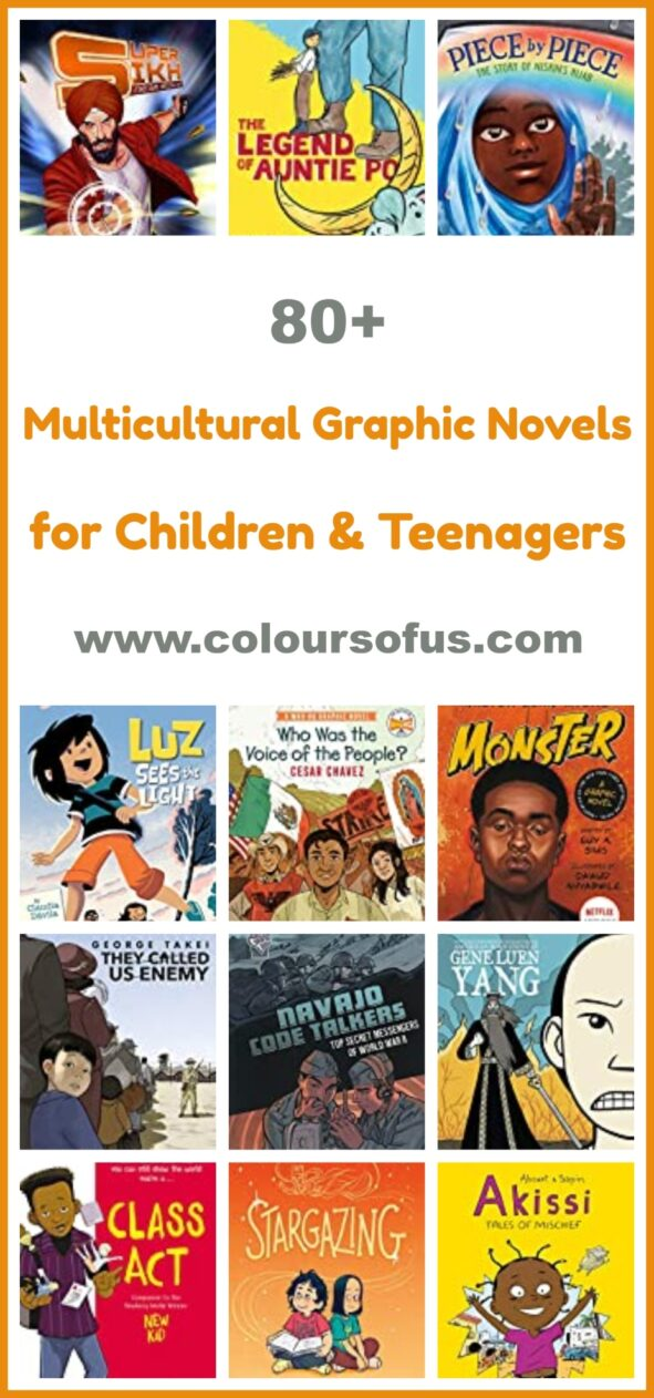 Multicultural Graphic Novels for Children & Teenagers
